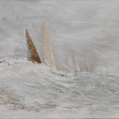 Frauke Klatt Bilder vom Segeln 80 x 100 cm