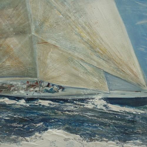 Frauke Klatt Bilder vom Segeln 70 x 100 cm