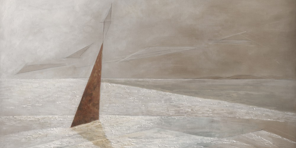 Frauke Klatt Bilder vom Segeln 200 x 110 cm