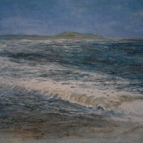 Frauke Klatt A strong Breeze 120x100